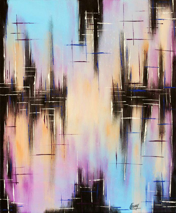 Peaceful pink -50x61cm