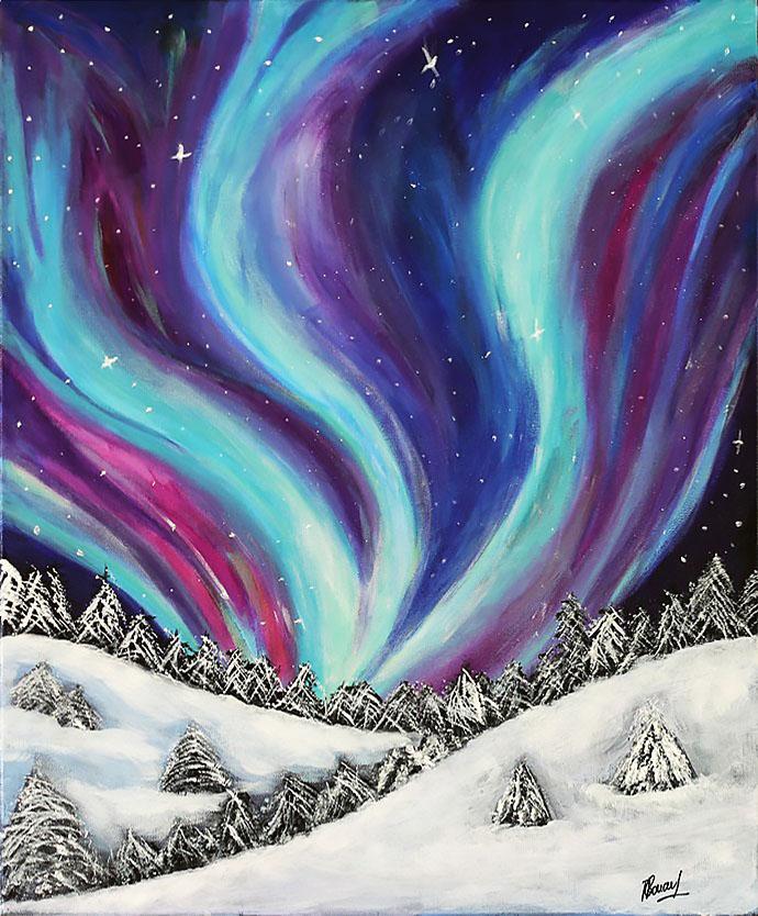 Aurora Borealis - 50x61cm